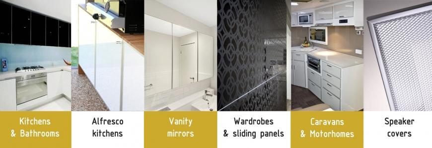 AliFrost® aluminium framed Perspex® doors & alifrost.com.au