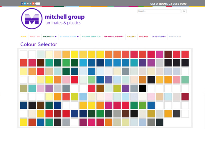 Colour-selector home page image
